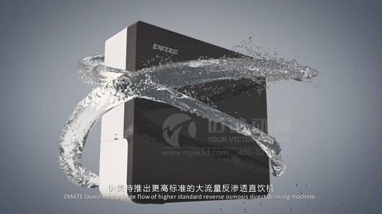 净水器行业动画