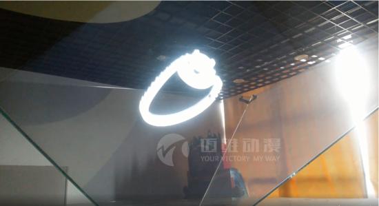 展览会的全场焦点,3d全息投影