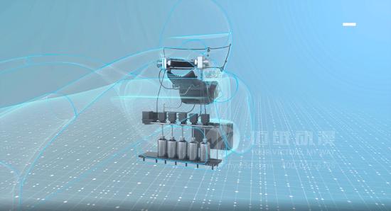 超越现实、加速渲染的数字动画视频