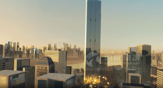 直观展示、促进成交的三维建筑动画